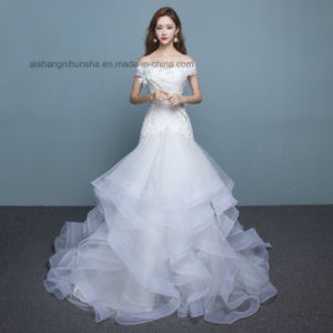 70c1d27e9dc0 China Lovemay Nice Sexy Ladies Women Wedding Party Lace Tulle Dress ...