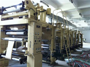 Second-Hand Medium Speed Printing, Rotogravure Printing Machine, Web Gravure Press