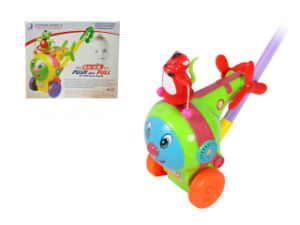 Baby Push-Pull Plane Toy with Light (H0940518) pictures & photos