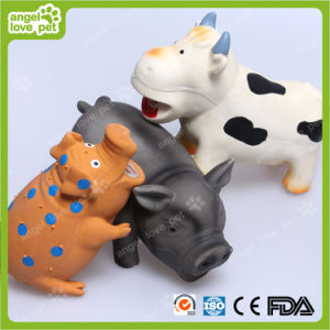 Latex Toy 22cm Spotted Pig Pet Toys (HN-PT418) pictures & photos