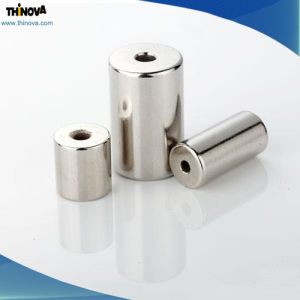 Cylinder Shape High Quality Permanent NdFeB Magnet for Magnetizer
