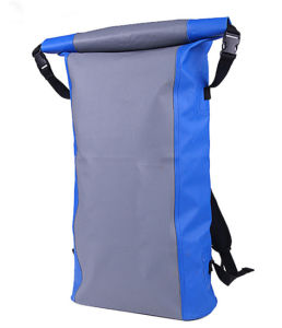 500d PVC Tarpaulin Waterproof Hiking Backpack (MC4028) pictures & photos