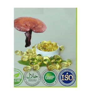 GMP 100% Pure Anti Cancer Reishi Mushroom Oil Soft Capsule