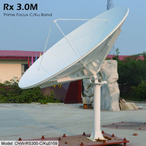 3.0m Rx Only Satellite Antenna