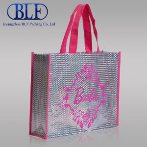 Rose Non Woven Print Ladies Fancy Bags (BLF-NW186) pictures & photos