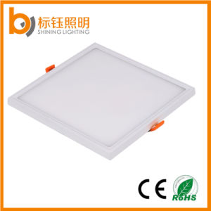 New Square Wholesale China 18W Home Lighting Lamp SMD2835 Ultrathin LED Light Ceiling Panel