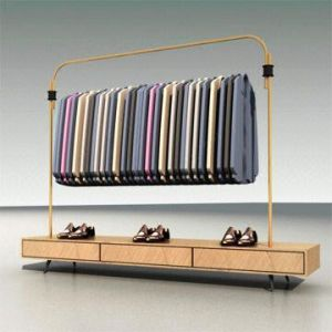 Clothes Display Equipment / Wood Clothes Display / Clothes Stand/ Clothes Rack pictures & photos