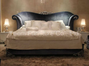 French Upholstered Bed Relaxing Bed Luxury pictures & photos