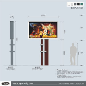 Outdoor Expressway Single Side Scrolling Advertising LED Light Box pictures & photos