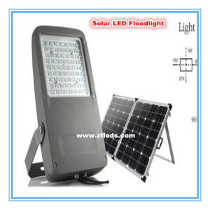 72PCS Philips 140wlm/W 40W LED Solar Floodlight for Outdooring Lighting