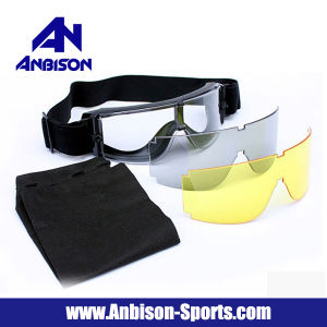 Anbison-Sports Usmc Airsoft X800 Tactical Goggle Glasses Set pictures & photos