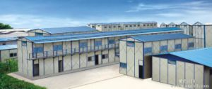 Prefab Steel Structure Building Modular Building Office Container Prefabricated Houses pictures & photos