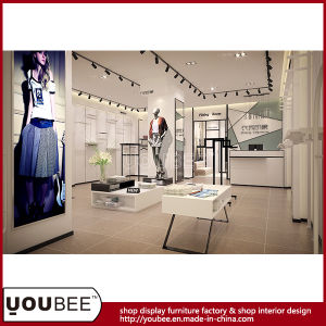 Elegant Ladies Clothes Display Furniture and Props