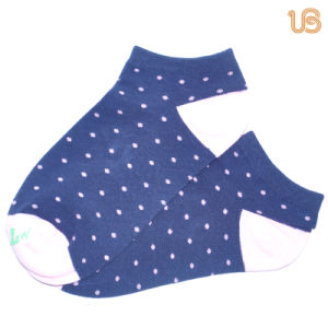Women′s Dots Ankle Sock pictures & photos