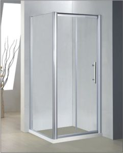 Bathroom 6mm Bifold Door Shower Enclosure (BT639) pictures & photos
