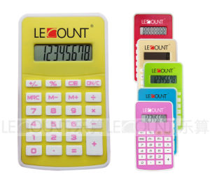 8 Digits Dual Power Pocket Calculator with Various Optional Colors (LC330-1)