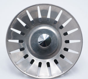 India Stainless Steel 201 Kitchenk Sink Bakset Strainer
