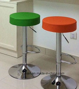 Comfortable Round Swivel PU Bar Stools (LL-BC012) pictures & photos