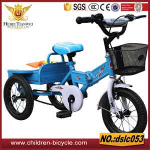 Comfortable Rear Seat and with Front Basket Child Tricycle/Baby Toys pictures & photos