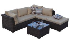 Outdoor Sofa Set Aluminium Frame Wicker Woven Garden Pe