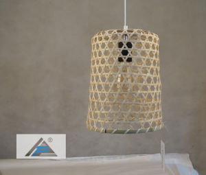 Bamboo Basket Shade Pendant Lamp for Hotel Decorative (C5006150-1) pictures & photos