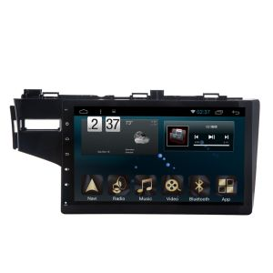 Android 6.0 System Car DVD GPS Navigation for Honda Fit 10.1 Inch Capacitance Screen with Bluetooth/TV/WiFi/USB