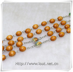 The Newest Wooden Beads Rosaries (IO-cr349) pictures & photos