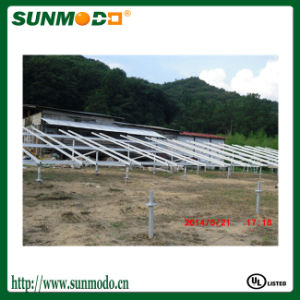 New Design Ground Screw Solar Mounting System