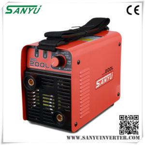 Sanyu 230V/1pH IGBT MMA Welding Machine (MMA-200L IGBT) pictures & photos