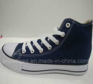 2016 Fashion High-Top Shoes with Vulcanized Rubber Sole