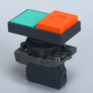 6-380V Illuminated-Square Type Pushbutton Switch pictures & photos