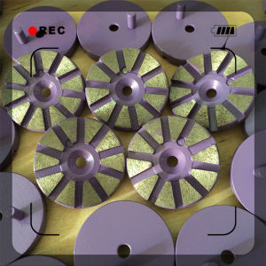 Magic Type Concrete Floor Metal Diamond Grinding Pad pictures & photos