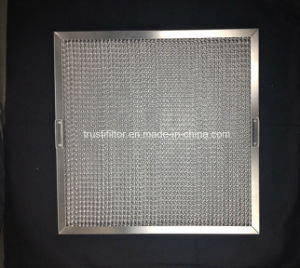 Exhaust Hood Canopy Ss Honeycomb Grease Canopy Filter