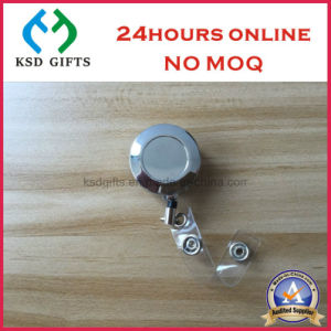 Retractable Metal Badge Reels, Custom ID Badge, Yoyo Badge pictures & photos