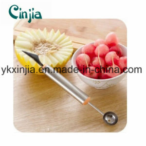 Fruit & Vegetable Platter Tools Stainless Steel Fruit Cutter Watermelon Scoops pictures & photos