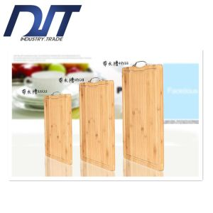 Wholesale Whole-Piece Bamboo Chopping Board with Custom Logo