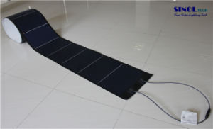 144W Thin, Light-Weight Membrane Flexible Solar PV Panel for BIPV