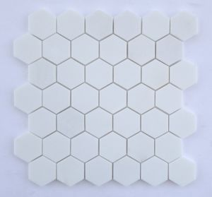 White Stone Mini Brick Tile Mosaic Tile pictures & photos