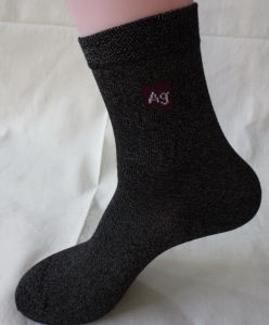 Silver Anti Bacterial Socks pictures & photos