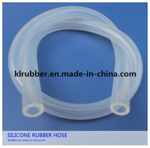 Senior Food Grade Transparent Silicone Hose with FDA pictures & photos