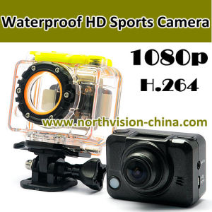 Waterproof 1080P WiFi Sports Camera H. 264