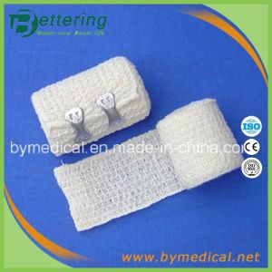White Colour Elastic Crepe Bandages with Spandex pictures & photos