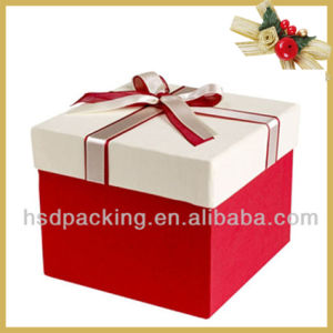Customized Size Luxury Paper Cardboard Gift Box for Packaging