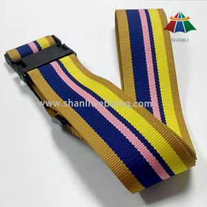 Colorful Striped Luggage Belt, Polyester Luggage Strap pictures & photos