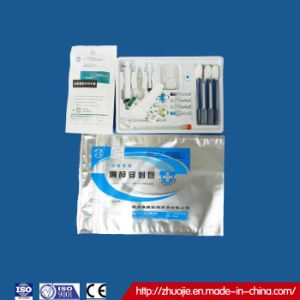 Hot Selling Disposable Sterile Anesthesia Tray with CE&ISO