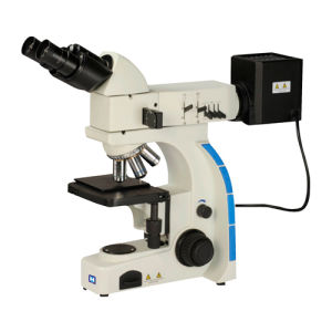 Upright Binocular Metallurgical Microscope (LM-202) pictures & photos