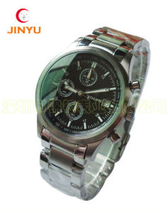High Quality Quartz Movement Luxury Stainless Steel Men Watch (JY-G001)