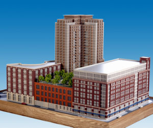 Architectural Scale Model Maker Residential Model (JW-20)