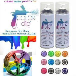 Hot Sale Colorful Peelable Plasti Dip Spay Spray Paint Coating Liquid Rubber Paint For Car Colordip