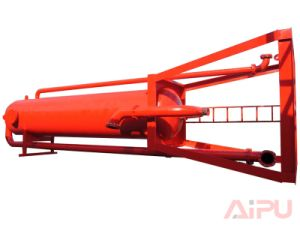 Mud Gas Separator for Gas or Oil Field Drilling